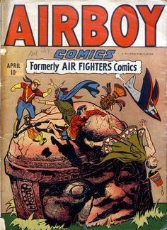 Comic Book Cover For Airboy Comics v3 2 [26]