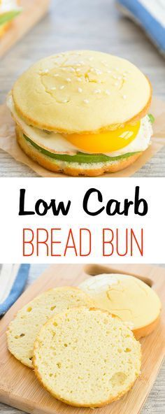 Low Carb Bread Buns - Easy to make and gluten free