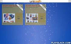 UNICASH Cash & Carry  Android App - playslack.com , UNICASH AZIENDA LEADER NEL SETTORE ALIMENTAREn this app you can find: AZIENDA, CATALOGO PRODOTTI, SCONTI & PROMOZIONI, SHOPPING ONLINE, REGISTRATI CON NOI, DOVE SIAMO, CHIAMACI, AMAZON STORE, FACEBOOK, VIDEO RICETTE