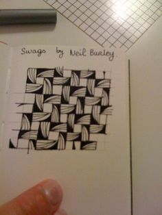 Swags by Neil Burley: looks like a variation of fiore perhaps?