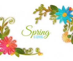 Sketches Flowers Spring Background Free Vector