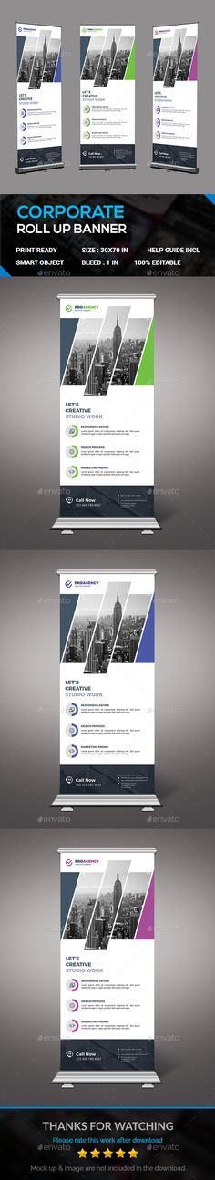 Roll Up Banner — Photoshop PSD #good look #signage • Available here → https://graphicriver.net/item/roll-up-banner/18073238?ref=pxcr