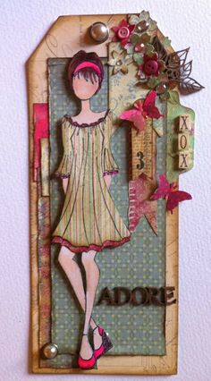 Ali-Craft Blog: Primas gets Girly by Clare