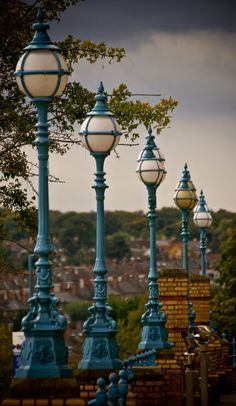 Lamp Posts Outside Alexander Palace ~ London, England
