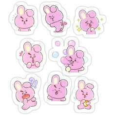 Cooky Sticker manualidades kpop 'Cooky' Sticker by MoreAndBetter Stickers Kawaii, Pop Stickers, Tumblr Stickers, Anime Stickers, Printable Stickers, Bts Kawaii, Kpop Diy, Homemade Stickers, Bts Drawings