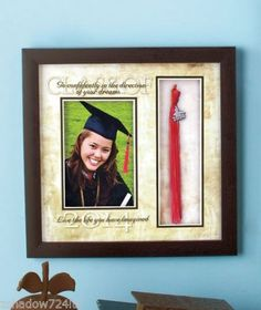Graduation 2014 Graduate Sentiment Tassel Keepsake Photo Frame New | eBay