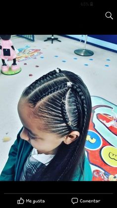 Lil Girl Hairstyles, Braided Hairstyles, Cute Fluffy Dogs, Quince Dresses, Box Braids, Protective Styles, Little Princess, Hair Inspiration, Ball Gowns
