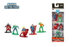 Superman, Jada Die Cast Nano MetalFigs DC Comic Figures 10 Pack Collector/'s Set