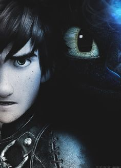 The unstoppable dynamic duo, Hiccup and Toothless.