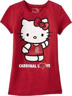 Even Hello Kitty loves Stanford...via @kimenf