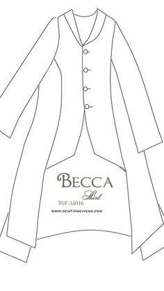 Becca Linen Shirt by Tina Givens