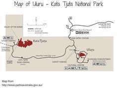 Uluru Kata Tjuta National Park Yulara Map