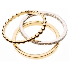 """❤ Maija Design - Ring Trio """"Mix and Match"""" - Sterlingsilber 