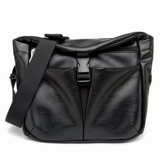 6a9ce92f90 Men PU Leather Minimalist Classic Crossbody Bag Chest Bag Leisure Business Shoulder  Bag Worldwide delivery.