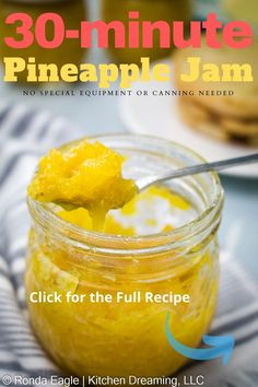 Bhg Recipes, Best Dinner Recipes, Fruit Recipes, Delicious Recipes, Pineapple Jam, Pineapple Recipes, Savory Breakfast, Breakfast Dishes, Canning Vegetables