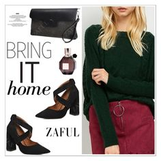 """""""Zaful 12"""" by sabinakopic ❤ liked on Polyvore featuring StyleNanda and Viktor & Rolf"""