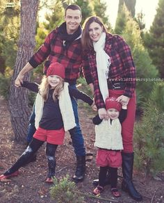 winter, colours, family