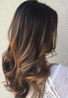Balayage highlights that you need to try right now 12 hair cabello ombre mo Brunette Color, Brunette Hair, Sombre Hair Brunette, Dark Brunette, Caramel Balayage Brunette, Blonde Color, Blonde Hair, Hair Highlights, Color Highlights