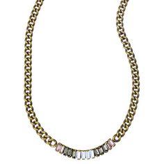 Petite Baguette Stone Necklace    http://www.chloeandisabel.com/boutique/amandabaxter