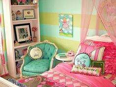 Girls Bedrooms,Charming Girls Bedrooms: Girls Bedrooms