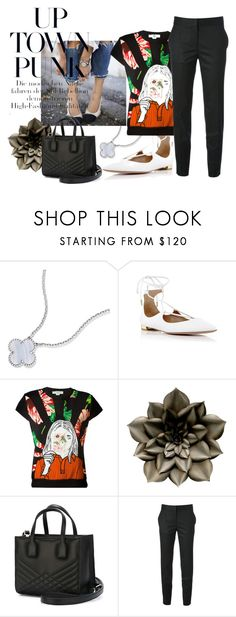 """Head to Toe"" by kjsafl ❤ liked on Polyvore featuring Aquazzura, STELLA McCARTNEY and Emanuel Ungaro"