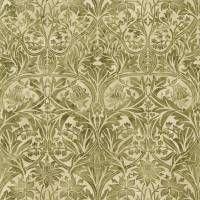 Bluebell Fabric - Thyme/Vellum