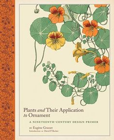 Plants and Their Application to Ornament cover by Eugene Grasset