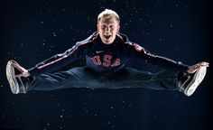 Ross Miner in his Road to Sochi photo shoot with NBCOlympics on April 24th in CA