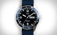 Timex Andros Watch - collaboration with J Crew $175