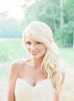 51 Striking Long Wedding Hair Ideas | HappyWedd.com