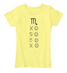 M Lemon Yellow T-Shirt Front