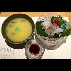 Kaiseki 3rd course sashimi and soup #food #foodie #foodgasm #foodporn #yum #yummy #instafood #instagood #photooftheday #instax #igers #iphonesia #ignation #foodstagram #gastronomy #cuisine #culinary #japan #osaka #traditional #sashimi #kaiseki by mr_ah