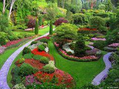 Maravillosos diseños de jardín