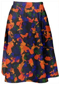 Happiest chica. Skirt designed by RALUCAAG for PAOM. Custom Made, Midi Skirt, Happy, Skirts, Stuff To Buy, Design, Fashion, Moda, Skirt