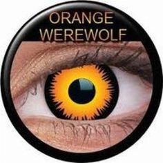 Sclera-lenses, a leading online store to buy Orange Werewolf Prescription Contact Lenses pc) at best prices. Costume Contact Lenses, Prescription Contact Lenses, White Contact Lenses, Prescription Colored Contacts, Cat Eye Contacts, Halloween Contacts, Orange, Contact Lens Solution, Makeup Inspiration