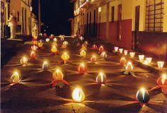 Dia de las velitas. Tradicion Colombiana en diciembre