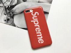supreme TPU all cover Schutzcase für Iphone7/7plus mit Buchstabe Logo