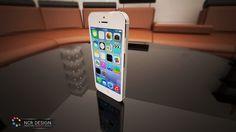3D model for Apple iPhone 5  #design #phone #apple #iphone #phonemodels #vray #render #3dsmax #ncrdesign Galaxy Phone, Samsung Galaxy, Apple Iphone 5, Model, Design, Scale Model, Models