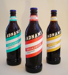 These read more as pop to me. But, interesting take. #beer #packaging #design
