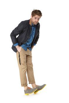 Spring Preview: Landi jacket, Timo Weiland trousers, Kai-Aakman shirt