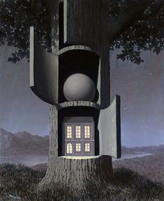 René Magritte : La voix de sang, 1945.Fosterginger.Pinterest.ComMore Pins Like This One At FOSTERGINGER @ PINTEREST No Pin Limitsでこのようなピンがいっぱいになるピンの限界