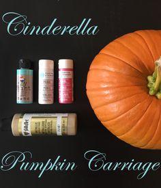 diy cinderella pumpk
