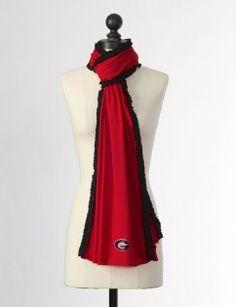 Cute UGA scarf!