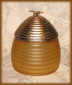 Vintage Avon-honey-jar