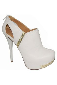 Neutral 245 Bootie In Stone - Beyond the Rack $29.99