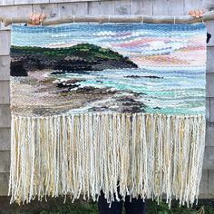 Allison Pinsent Baker (@shadbayweaving) • Instagram photos and videos Weaving Art, Loom Weaving, Tapestry Weaving, Beaded Cuff Bracelet, Cuff Bracelets, Room Decor, Crafty, Photo And Video, Abstract