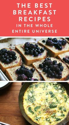 The Best Breakfast Recipes in the Whole Entire Universe via @PureWow