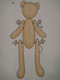 Мастер-класс: кенгуру в стиле Тильда - Ярмарка Мастеров - ручная работа, handmade