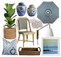 The fabulously chic Halcyon House, Cabarita Beach + my picks for getting the look - via Bungalow Blue