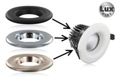 Compatible Bezels for Lux-Fire Fire Rated LED Downlights